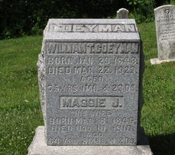 Margaret Jane Maggie Coeyman
