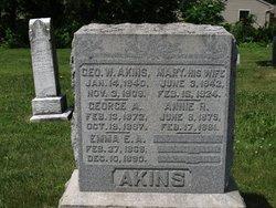 George A Akins
