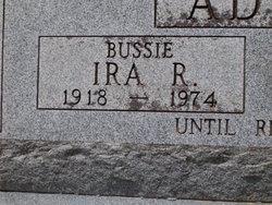 Ira Ross Bussie Adams