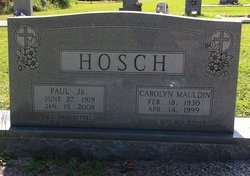 Carolyn <i>Mauldin</i> Hosch