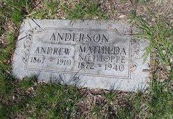 Mathilda <i>Hoppe</i> Anderson
