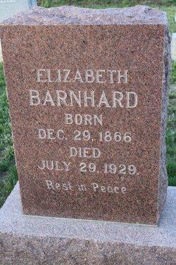 Elizabeth <i>Knapp</i> Barnhard