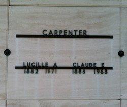 Lucille Catherine Lucy <i>Allen</i> Carpenter