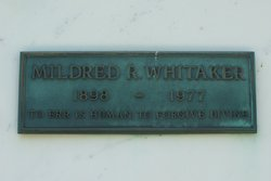 Mildred R. Whitaker