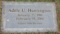 Adele U. Huntington