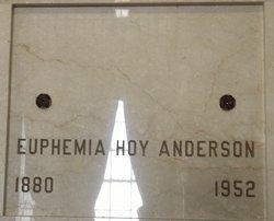 Euphemia Hoy Anderson