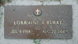 Lorraine Anne <i>Dvorak</i> Burke