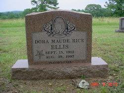Dora Maud <i>Rice</i> Ellice