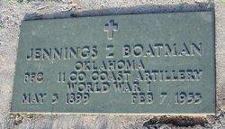 Jennings Z. Boatman