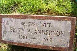 Betty Ann <i>Smith</i> Anderson