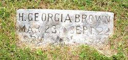 Helen Georgia Brown