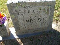 Elena <i>Hawkins</i> Brown