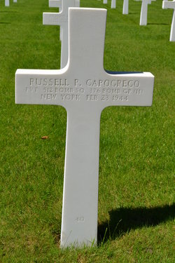Pvt Russell P Capogreco