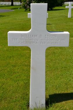 2Lt William B Lyon