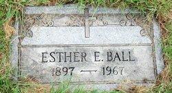 Esther E <i>Schaaf</i> Ball