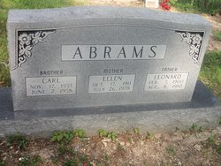 Ellen <i>Malicoat</i> Abrams