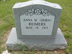 Anna M <i>Dorn</i> Reimers