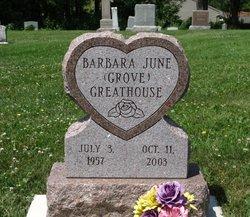 Barbara June <i>Grove</i> Greathouse