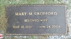 Mary Magnolia <i>Williams</i> Crofford