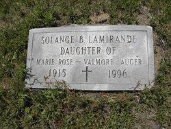 Solange B <i>Auger</i> Lamirande
