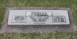 Rebecca <i>Bell</i> Fowler