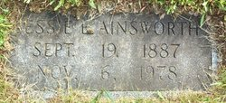 Bessie E <i>Staples</i> Ainsworth