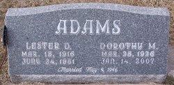 Dorothy Marie <i>Cox</i> Adams