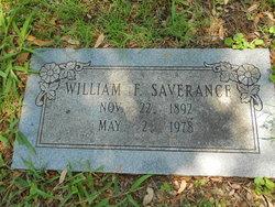 William Franklin Saverance
