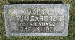 Mary J <i>Vienhage</i> Baumgartner