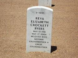 Reva Elizabeth <i>Crockett</i> Byers