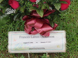 Frances Lamm Dickinson