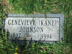Genevieve <i>Kane</i> Johnson