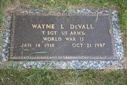Sgt Wayne L DeVall