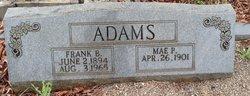 Mae P Adams