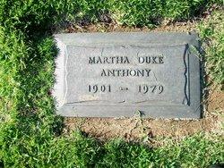 Martha <i>Duke</i> Anthony