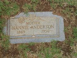 Nannie May <i>Taylor Tribble</i> Anderson