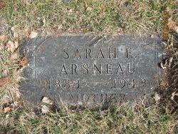 Mrs Sarah Elizabeth Bessie <i>Imhoff</i> Arsneau