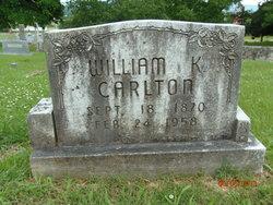 William K Carlton