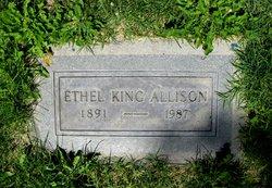 Ethel Mary <i>King</i> Allison