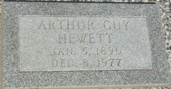Arthur Guy Hewett