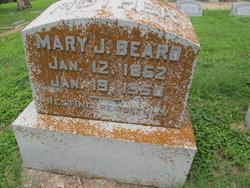 Mary Jane <i>Glenn</i> Beard