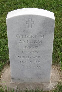 Gilbert Marvin Gib Anklam