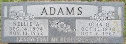 Nellie A Adams