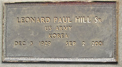 Leonard Paul Hill, Sr