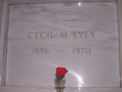 Cecil M Evey