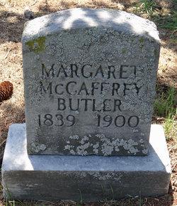 Margaret <i>McCaffrey</i> Butler