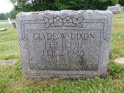 PFC Clyde Walter Dixon