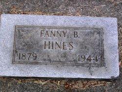 Fanny Gertrude <i>Bailey</i> Hines