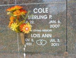 Lois Ann <i>Horner</i> Cole