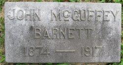 John McGuffey Barnett